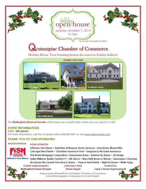 Holiday House Tour 2013 Flyer