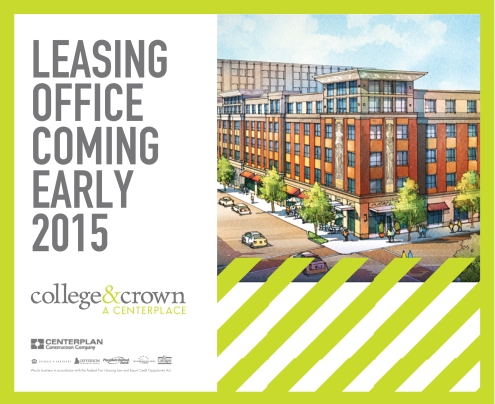 Leasing office ad